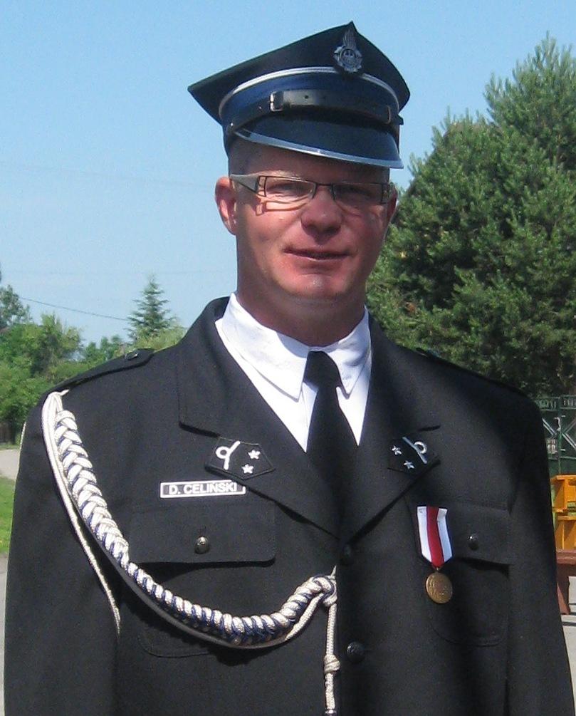 Zastępca Naczelnik OSP Nurzyna - Daniel Celiński