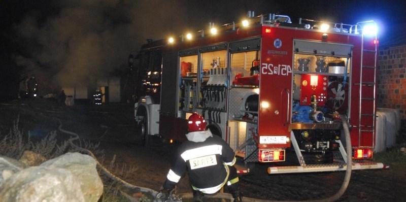Pożar w Karwowie