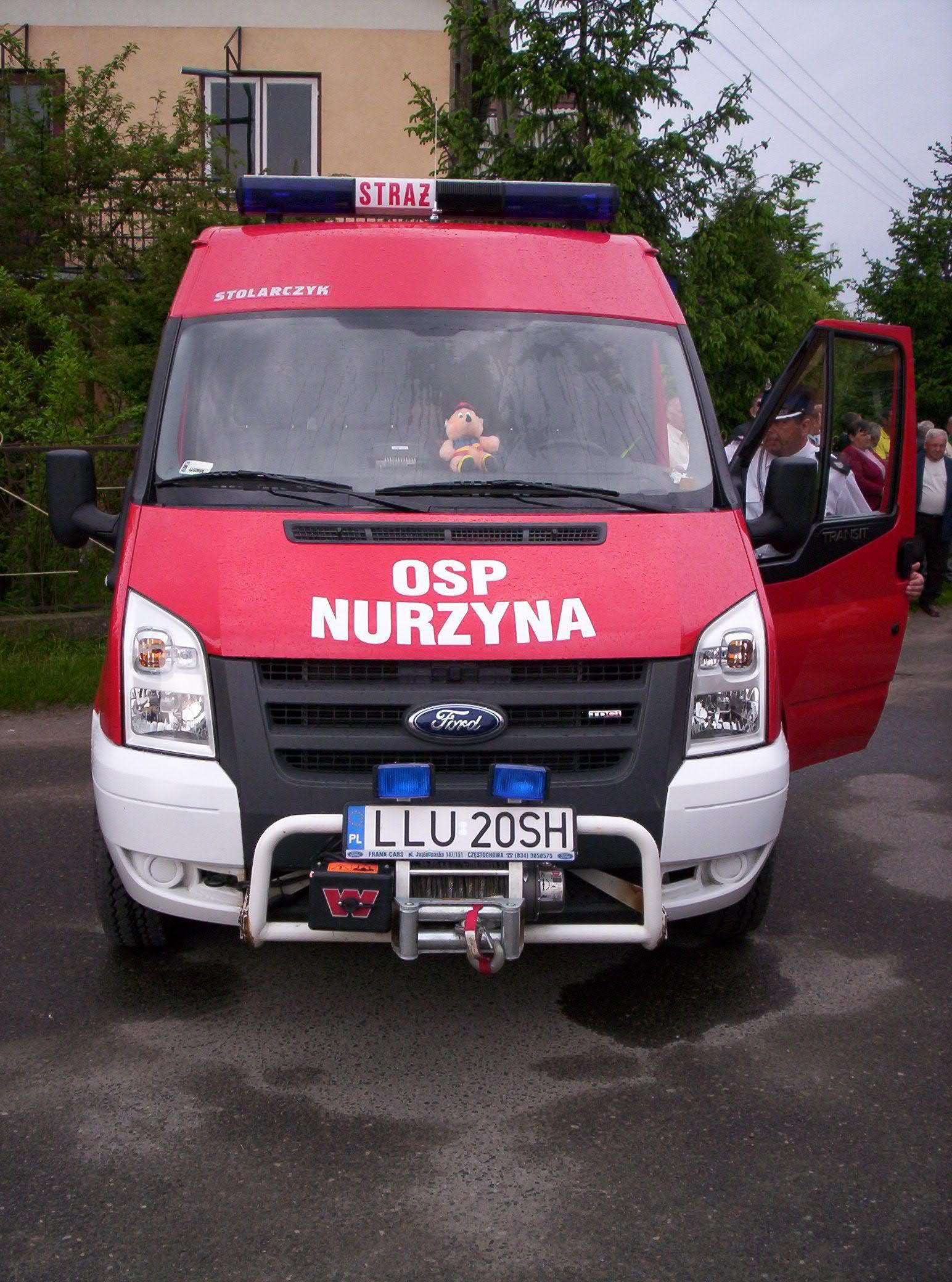 Ochotnicza Straż Pożarna w Nurzynie, Nowy wóz bojowy - Ford.